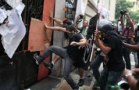 В Бразилии полиция разогнала акцию протеста учителей слезоточивым газом