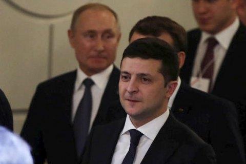 Зеленський хотів би більшої ефективності від діалогу з Путіним