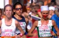 Победительница марафона на чемпионате Европы белоруска Мазуренок бежала с окровавленным лицом (обновлено)