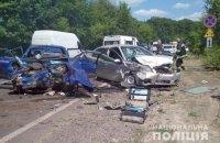 У Хмельницькій області сталася ДТП, постраждало шестеро осіб