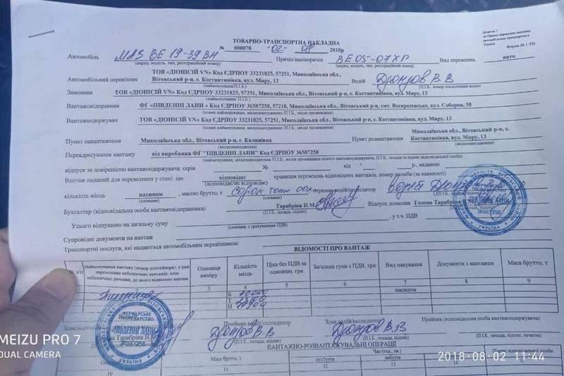 Фермеры подрались с полицией на дороге в Николаевской области из-за весового контроля