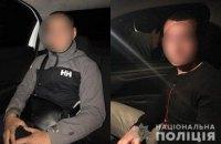 Поліція затримала п'ятьох підлітків за жбурляння каменюк у вікна поїзда