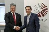 Порошенко собирается пригласить премьера Греции в Мариуполь