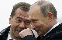 Путин оставил Медведева на посту премьера РФ