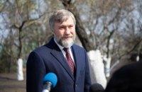 Новинский заявил, что излечился от коронавируса