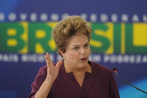 Президент Бразилії порівняла процедуру імпічменту зі спробою перевороту