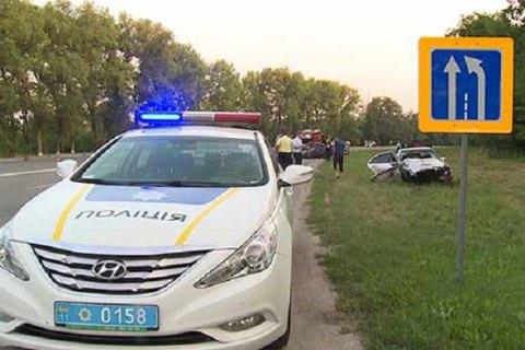 У великій ДТП у Вінницькій області загинули чотири людини