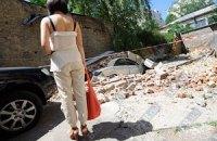 В Севастополе рухнула бетонная плита на шестилетнего мальчика