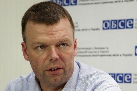 Хуг: Наблюдатели ОБСЕ могли видеть взоне АТО знаки отличияРФ