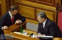 В Раде сорвали попытку инициировать импичмент Порошенко