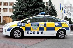 Яценюк і Аваков протестували патрульний автомобіль