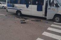 В Харківській області обстріляли автобус з представниками ОПЗЖ