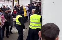 Нарушитель ПДД отобрал у патрульного газовый баллончик в Ивано-Франковске