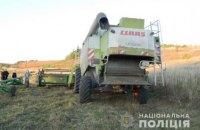В Тернопольской области под колесами комбайна погиб его водитель