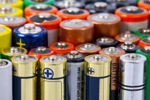 Украина отправит 20 тонн батареек на переработку в Румынию