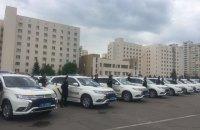 Полиция Киевской области получила 10 новых автомобилей