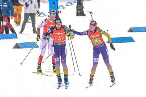 Сборная Украины выиграла первую медаль на чемпионате мира по биатлону