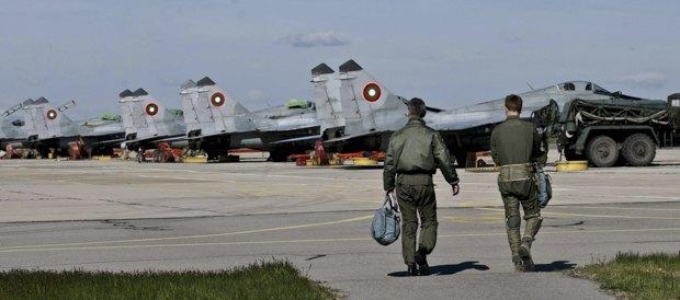 МиГи-29 ВВС Болгарии на базе