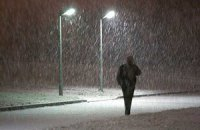У понеділок у Києві пройде невеликий сніг