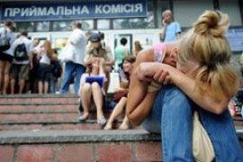 Абитуриенты оккупировали Киев (ФОТО+ВИДЕО)