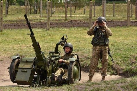 """ВСУ отработали комплекс мер по реагированию на потенциальные угрозы российско-белорусских учений """"Запад-2017"""""""