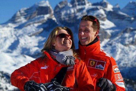 Дружина Міхаеля Шумахера дала рідкісне інтерв'ю з обнадійливими перспективами