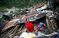 У Непалі стався новий землетрус магнітудою 7,4 (оновлено)