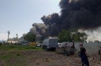 Влада підрахувала постраждалих під час пожежі на нафтобазі