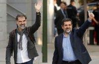 Испания арестовала двух лидеров каталонских сепаратистов