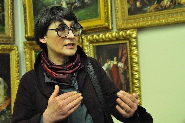 Елена Живкова, замдиректора по научной работе Национального музей Ханенко
