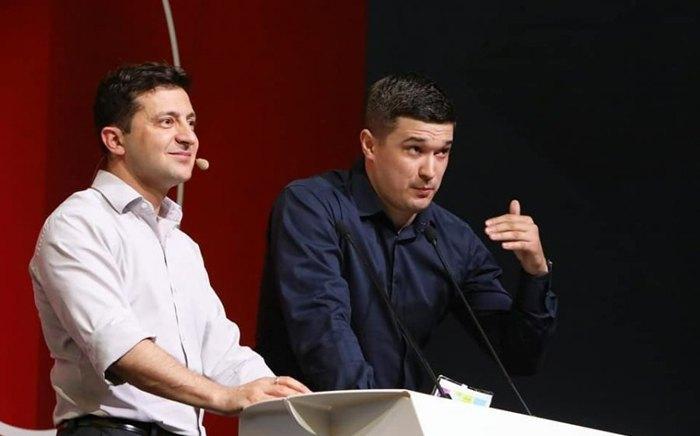 Владимир Зеленский и Михаил Федоров