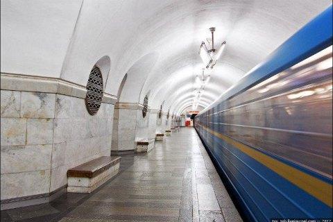 Через ремонт станції метро з київського вокзалу пустять автобус і тролейбус