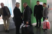Four Ukrainians return home from Libyan captivity