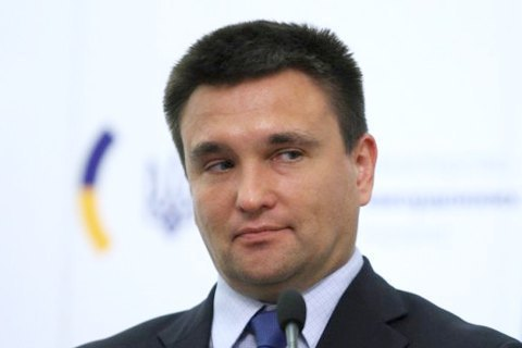 Klimkin floats idea of switch to Latin alphabet in Ukraine