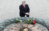Poroshenko: Descendants of those who defeated Nazism protect Ukraine from Russia