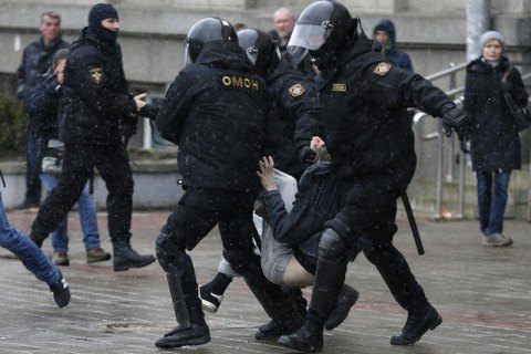 Another Ukrainian detained in Belarus Freedom Day rally clampdown