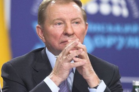 Kuchma: Donbas peace talks stalled