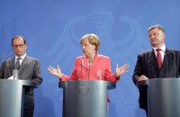Poroshenko, Merkel, Hollande and Putin to meet on 19 October in Berlin