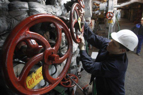 Ukraine consumes first billion cubic meters of gas