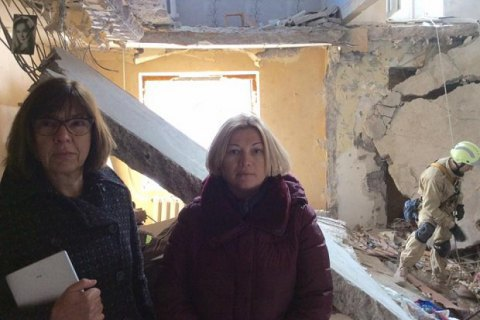 MEP Harms shocked by devastation in Avdiyivka