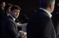 """Zelenskyy uses part of Poroshenko's speech, blames """"saboteurs"""""""
