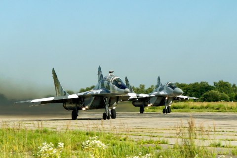 Rapid Trident exercise takes off. Air Force put on alert