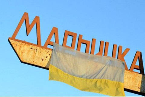 Civilian woman wounded in front-line Maryinka