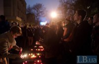 Kyiv pays tribute to late Kherson activist