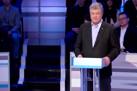 Poroshenko says another Maydan possible after Zelenskyy's win