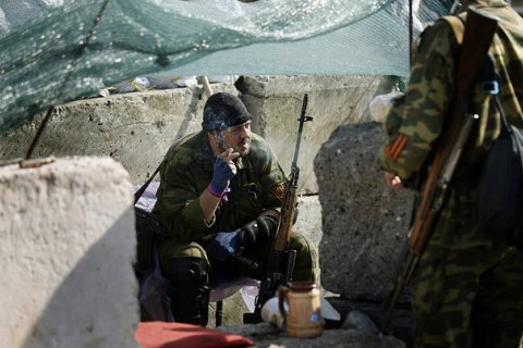 ATO troops record 64 attacks by militants in Donbas