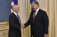 Poroshenko, Mattis discuss defensive weapons for Ukraine
