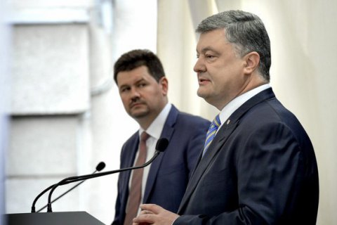 Top 10 quotes from President Poroshenko's presser