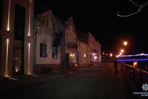 Hungarian Culture Centre in Uzhhorod catches fire again