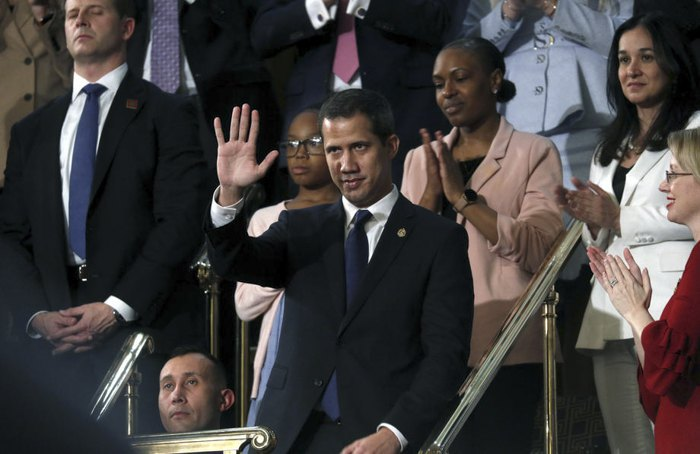 Juan Guaido, the leader of the Venezuelan opposition